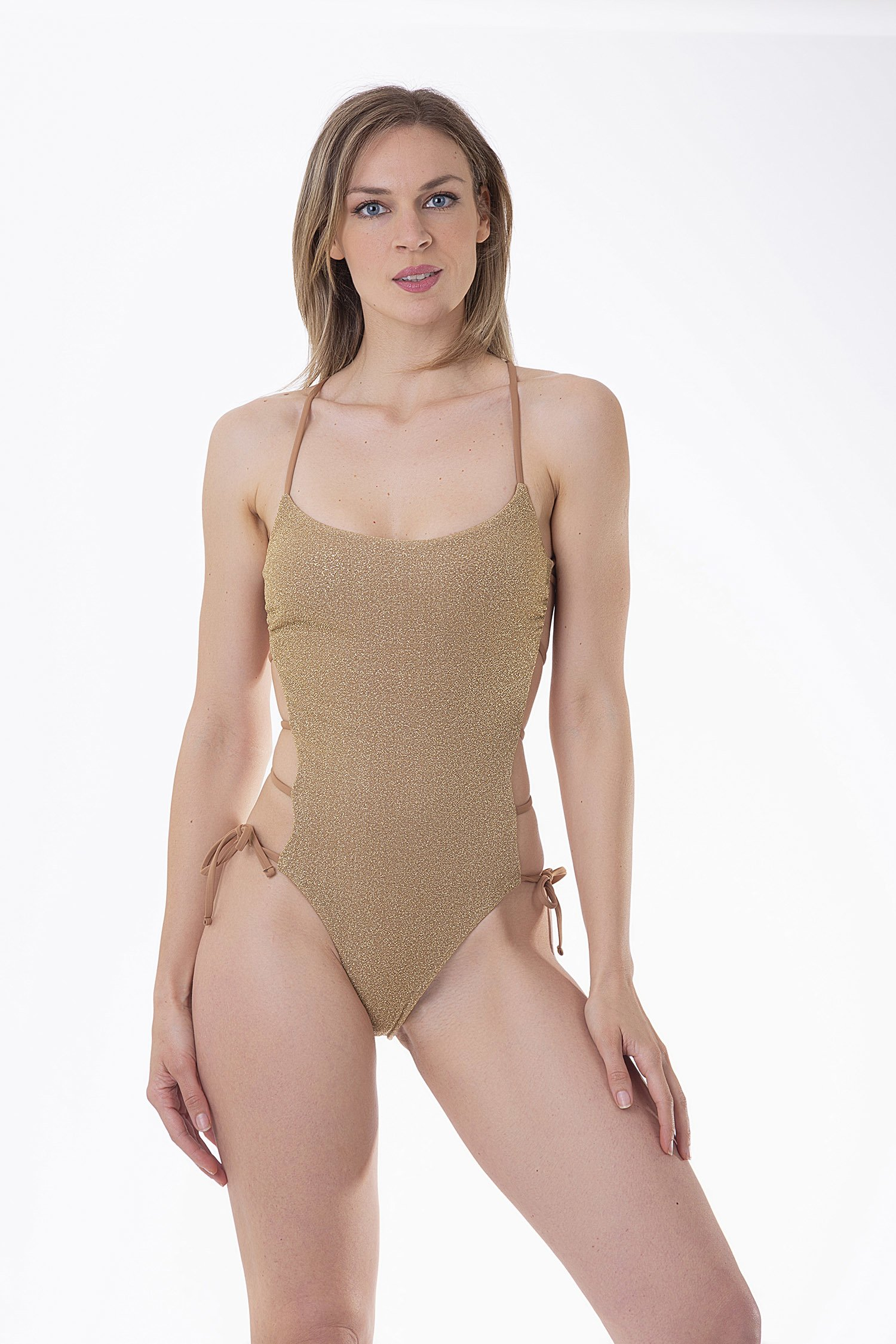 ONE-PIECE LUREX - Lurex Oro