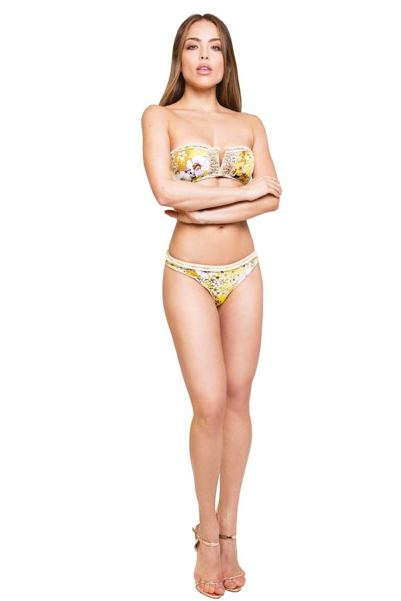 BIKINI APPLICATION SPRING - Primavera Giallo