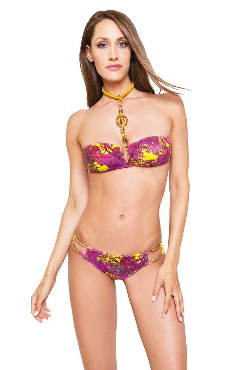 BIKINI GOLD METAL ELEMENTS