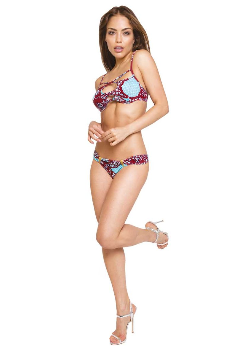 COSTUME PUSH UP CON SLIP  ELEMENTI METALLO
