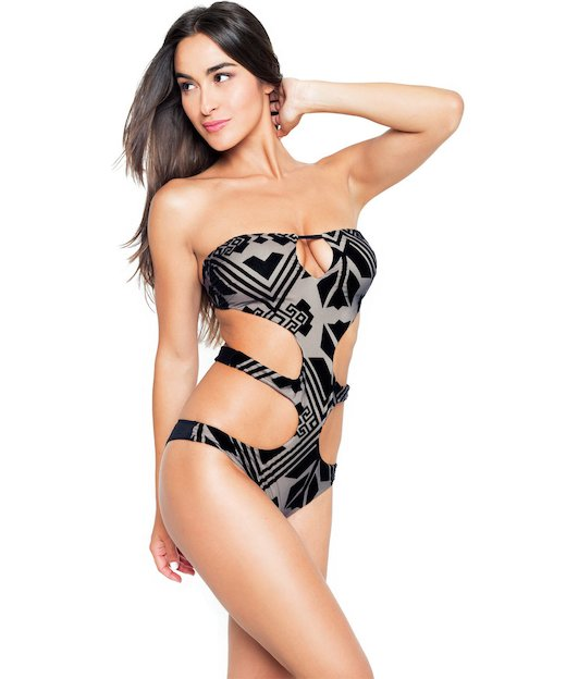 FLOCK ONE PIECE 2705 - Flock Nero