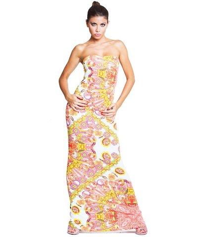 Tube Foulard dress