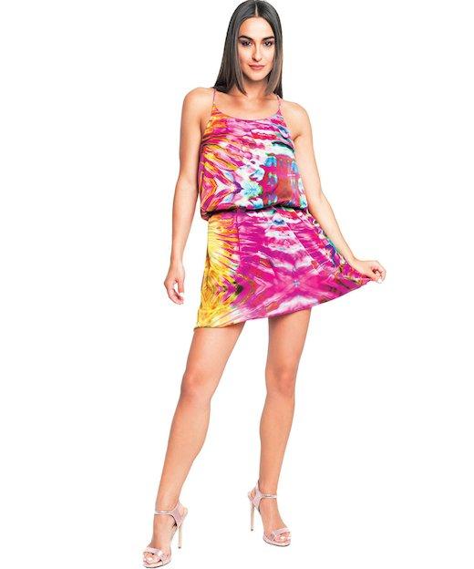 TRAPEZE DRESS 3742