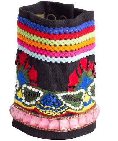 bracciale ricamo foulard