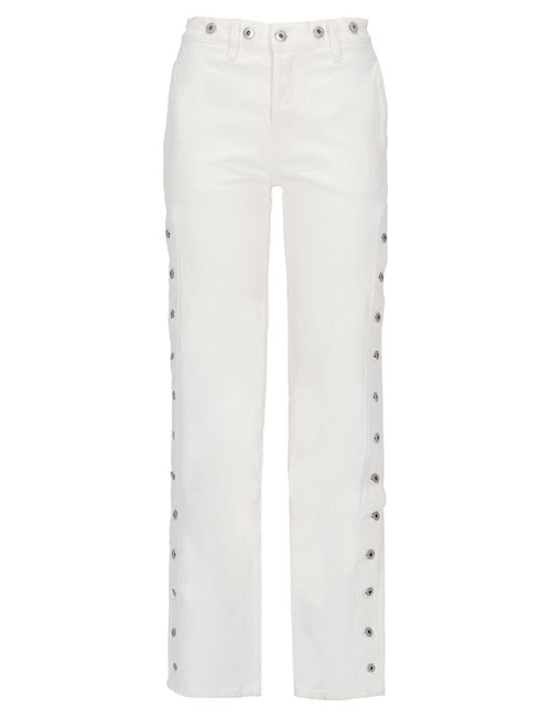 White Cotton Jeans