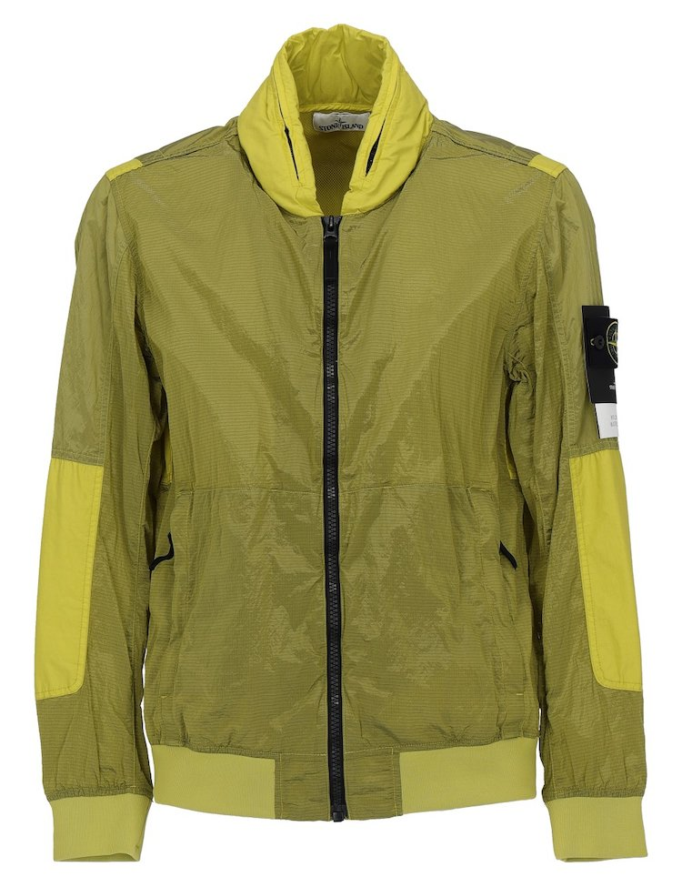 Yellow Waterproof Jacket