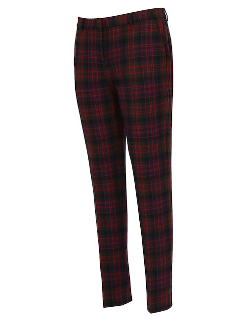 Pantalone Tartan Rosso