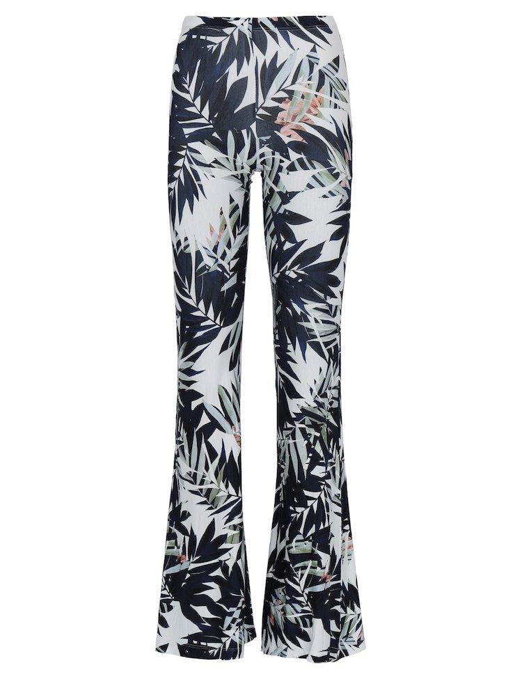 Floral-Printed Pants