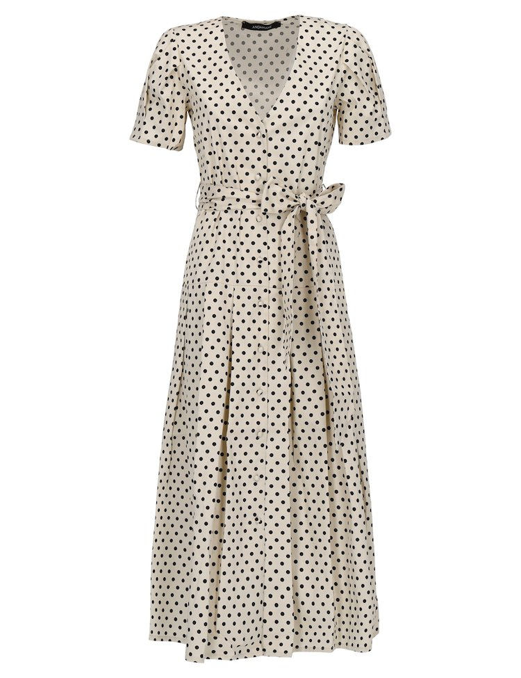 Alexandra Polka Dot Dress