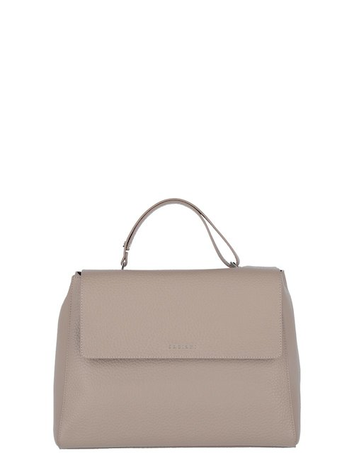 Large Sveva Leather Bag