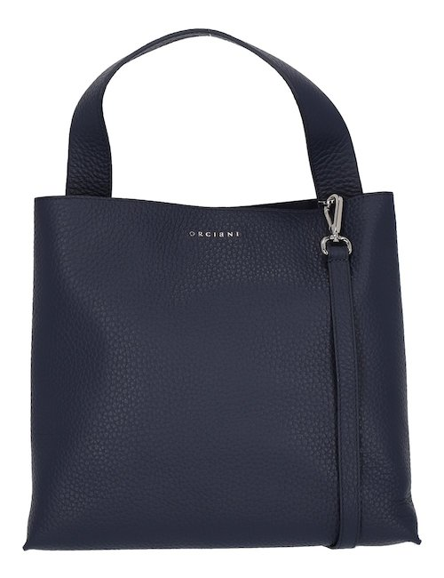 Blue Leather Bag