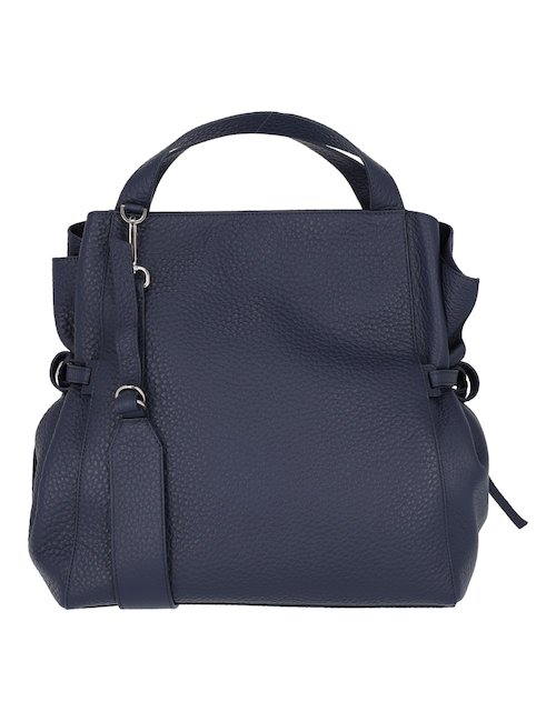 Soft Blue Leather Bag