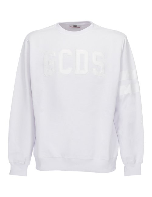 Logo Patch Cotton Sweatshirt