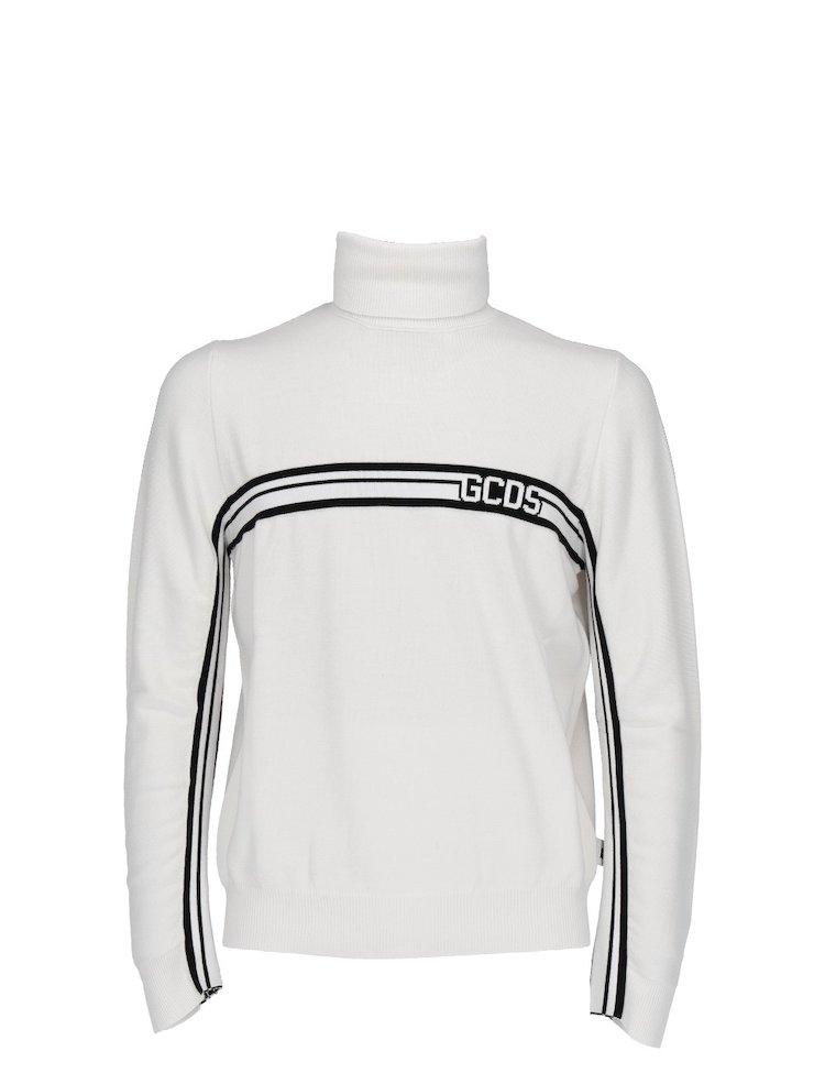 Wool Blend Turtleneck Sweater