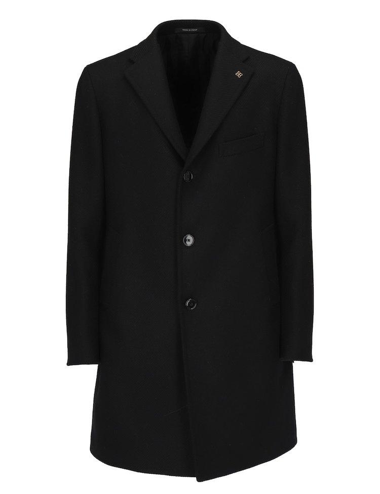 Cappotto Monopetto Nero