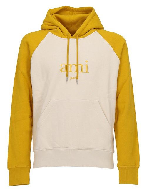 Bicolor Hooded Sweatshirt