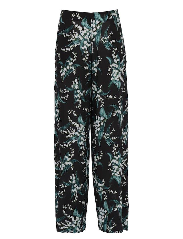 Pantaloni In Seta