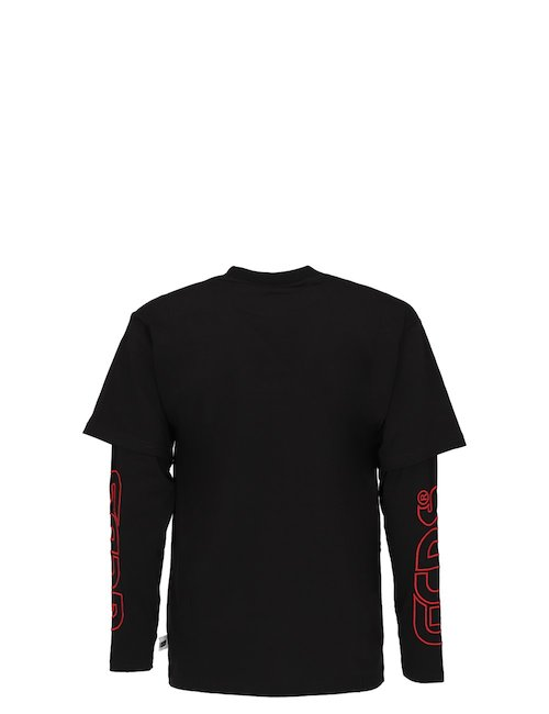 Oversize Double Sleeves T-Shirt