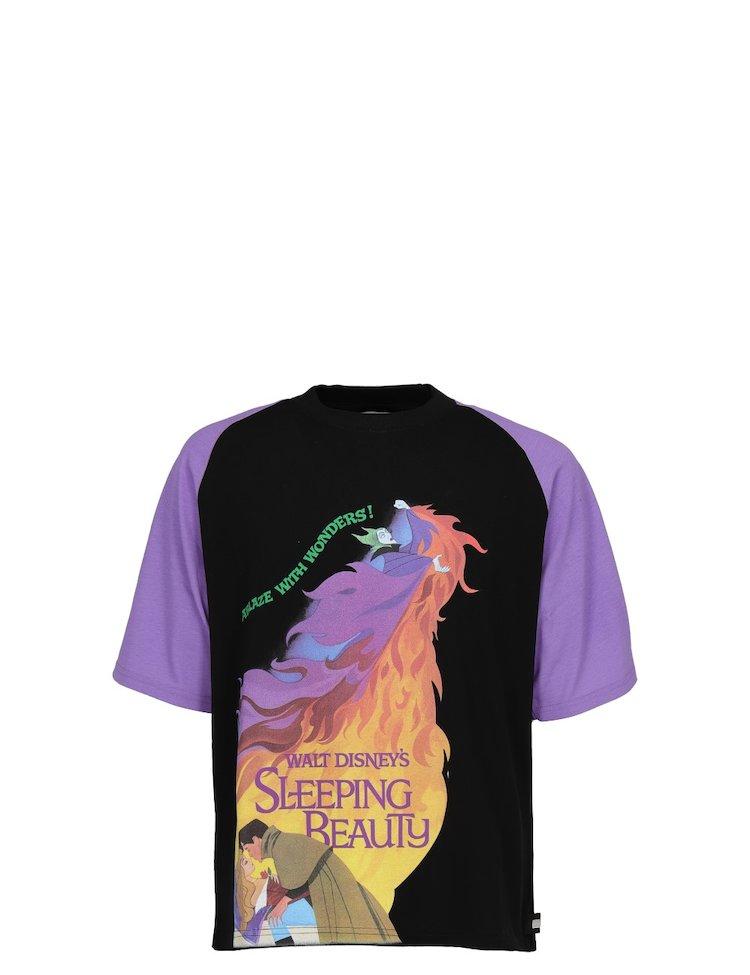 Oversize Sleeping Beauty Printed T-Shirt