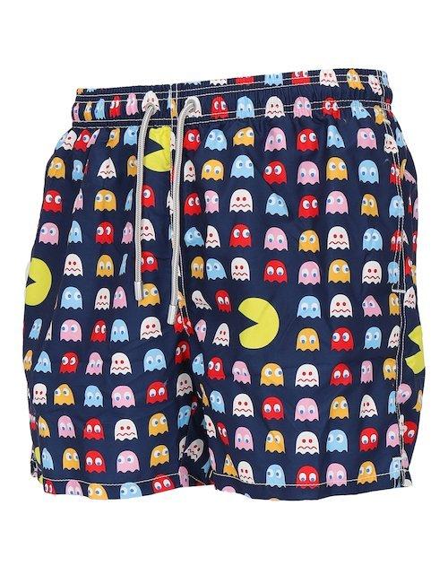 Multicolor Swim Shorts