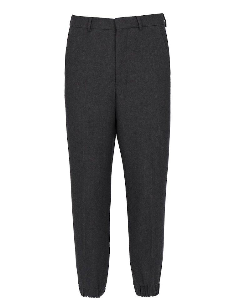 Pantaloni Carrot fit con fondo elasticizzato