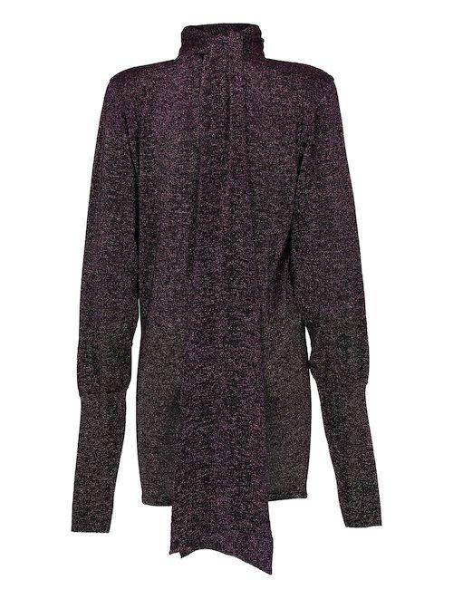 Long Lurex Sweater