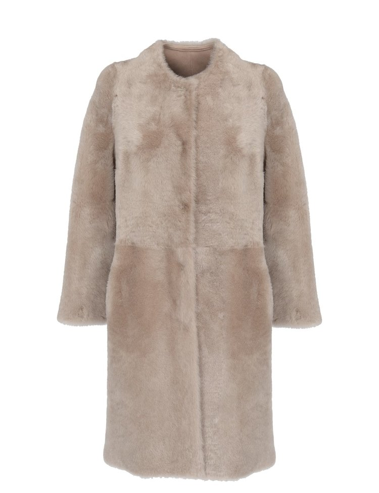 Shearling Reversible Coat