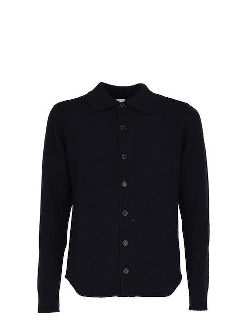 Wool Blend Shirt Jacket