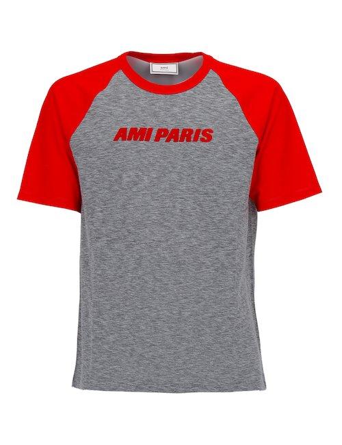 Bicolor Cotton T-Shirt