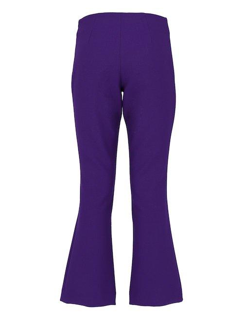 Pantaloni Con Fondo Svasato