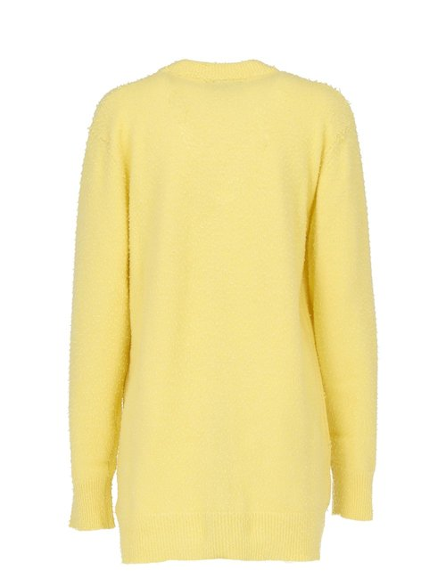 Wool Blend Long Sweater