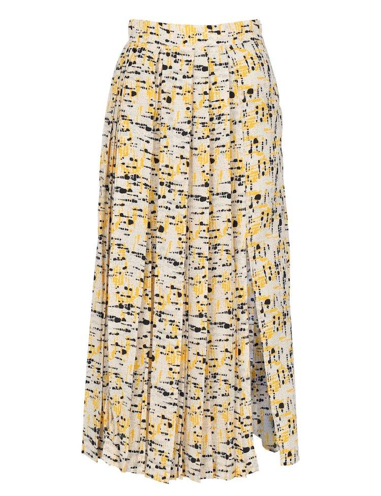 Plisse Long Skirt