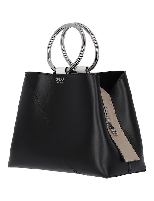 Polly Shoulder Bag With Metal Handles
