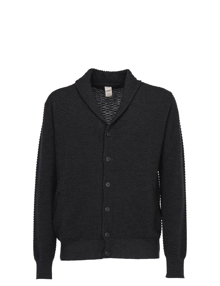 Virgin Wool Knit Cardigan