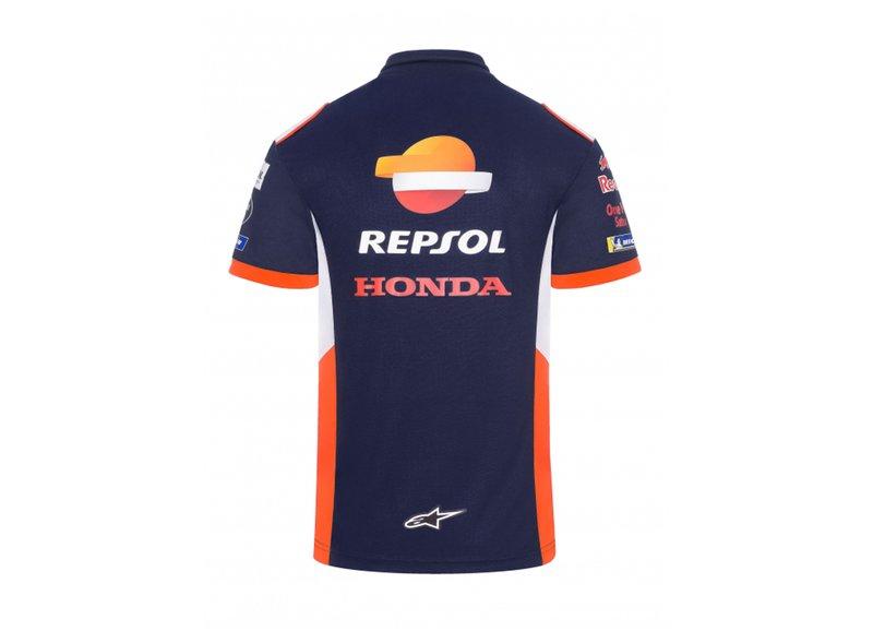 REPSOL RACING T-Shirt pour Enfant Honda Bleu 2//3 Anni