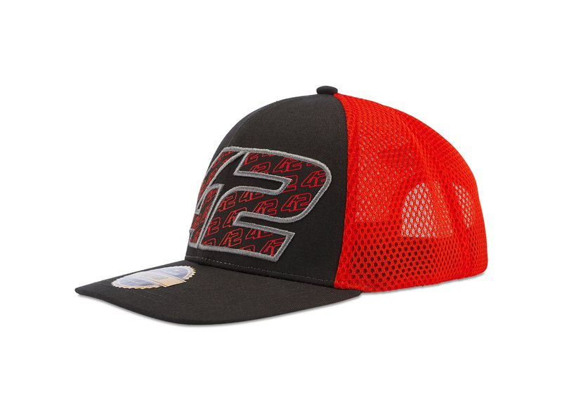 Cappellino Alex Rins 42 - Red