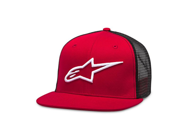 Alpinestars Cap Trucker Red