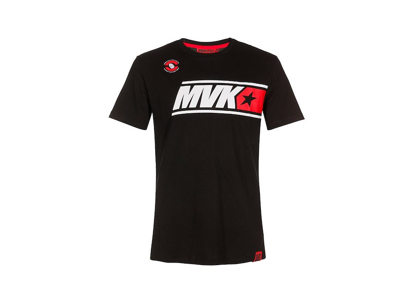 MVK blackT-Shirt - White