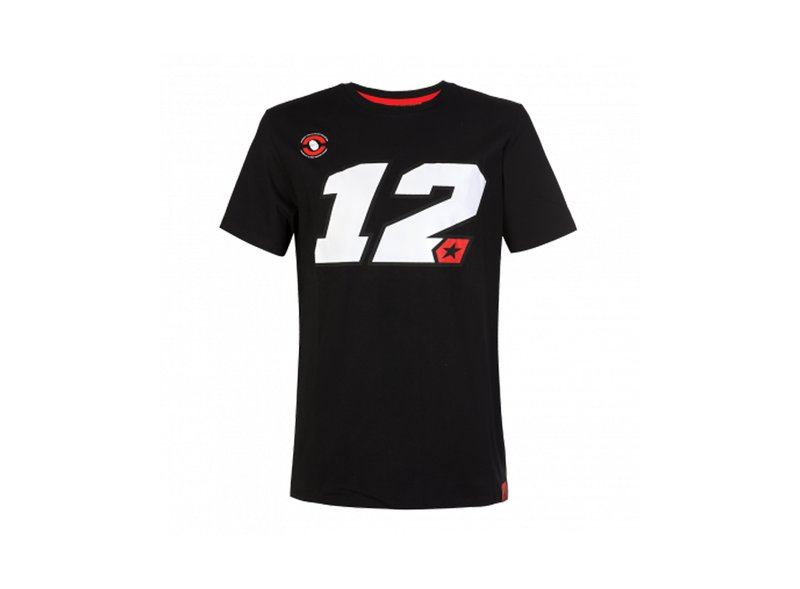 Camiseta Maverick Viñales 12 - Black