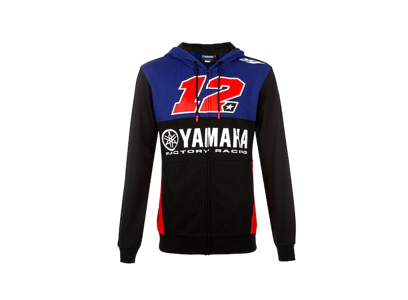 Sweat-shirt Yamaha Viñales 12 Dual - White