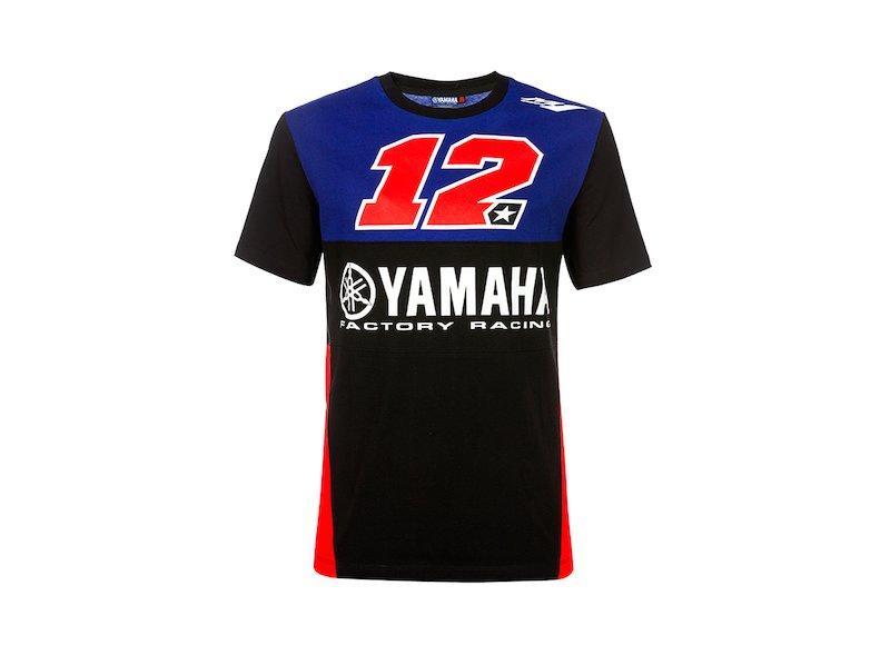 Camiseta Yamaha Viñales 12 Dual