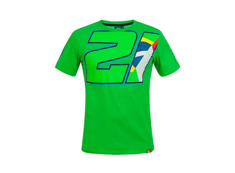 Camiseta Franco Morbidelli 21 - White