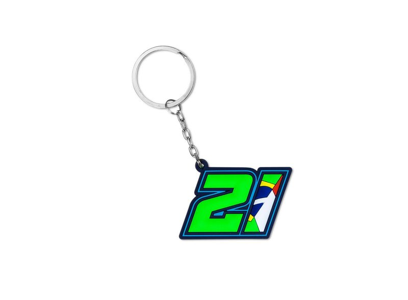 Franco Morbidelli 21 Key Ring