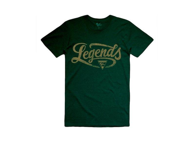 T-Shirt Legends MotoGP vert