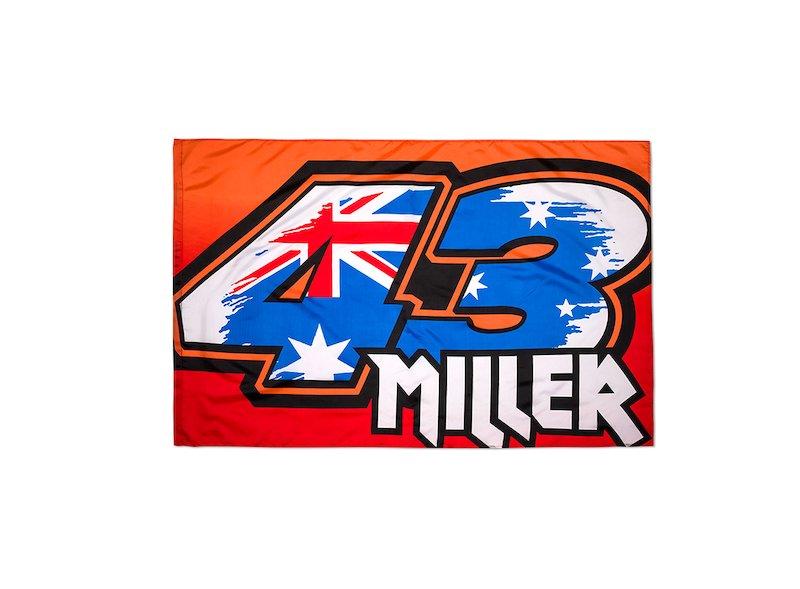 Jack Miller Flag - White