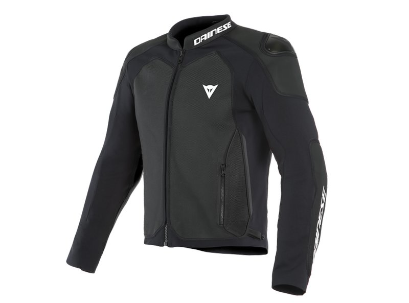 Dainese Intrepida Perf. Leather Jacket Fluo Red - Red