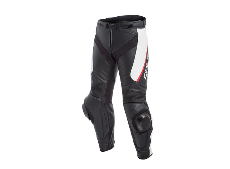 Delta 3 Leather White Dainese Pants