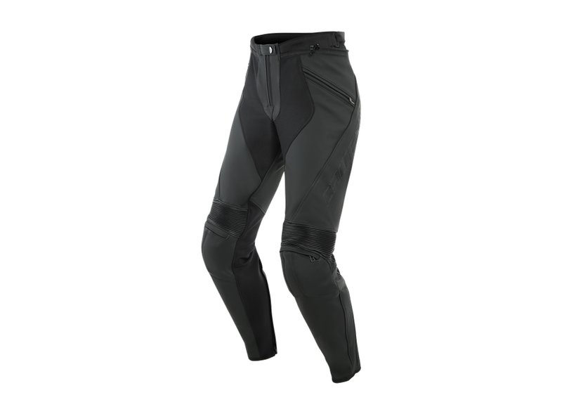 Delta 3 Leather Dainese Pants - Black