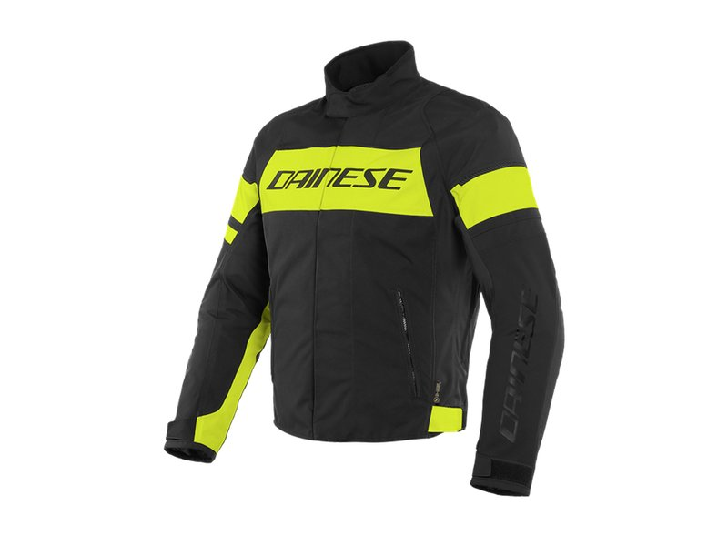 Dainese D-Dry Jacket Yellow - Black
