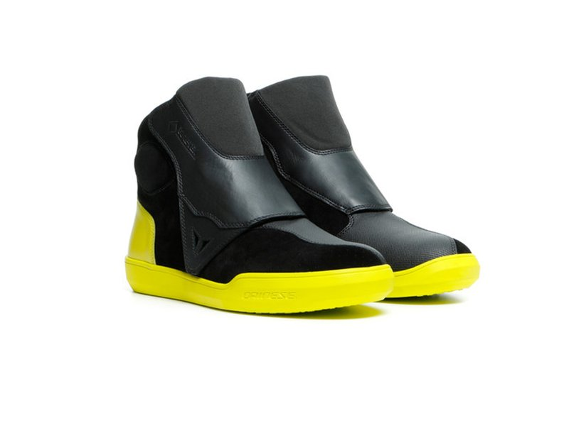 Dainese Dover Gore-Tex Shoes Fluo Yellow - Yellow